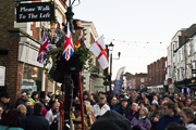 image of Street entertainment at the 2014 Dickensian Christmas Festival