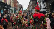 image of the Rochester Dickensian Christmas Festival 2018, linking to a larger image