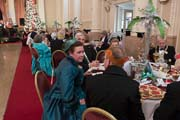 image of the Mistletoe Ball at the Rochester Dickensian Christmas Festival 2018, linking to a larger image