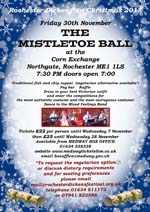 small image of the poster promoting the Mistletoe Ball 2018 linking to a larger image
