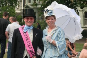 The winner of the 'Mr. Rochester 2010' competition