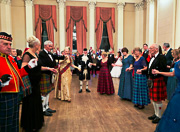 The Mistletoe Ball at the Rochester Dickensian Christmas 2019, linking to a larger image